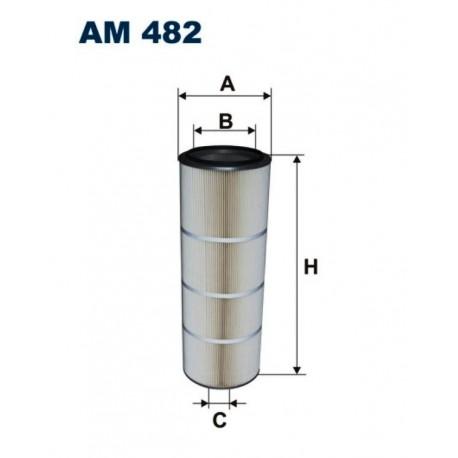 FILTR POWIETRZA FILTRON AM482