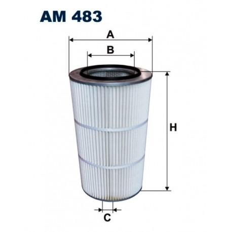 FILTR POWIETRZA FILTRON AM483