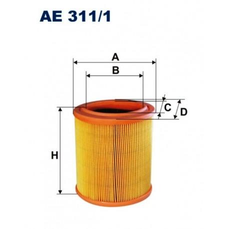 FILTR POWIETRZA FILTRON AE311/1