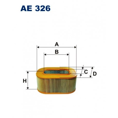 FILTR POWIETRZA FILTRON AE326
