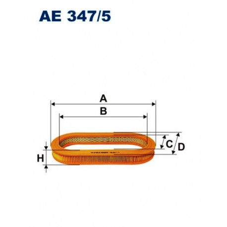 FILTR POWIETRZA FILTRON AE347/5