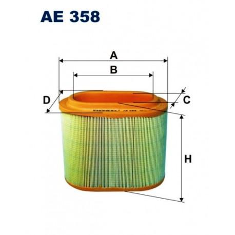 FILTR POWIETRZA FILTRON AE358