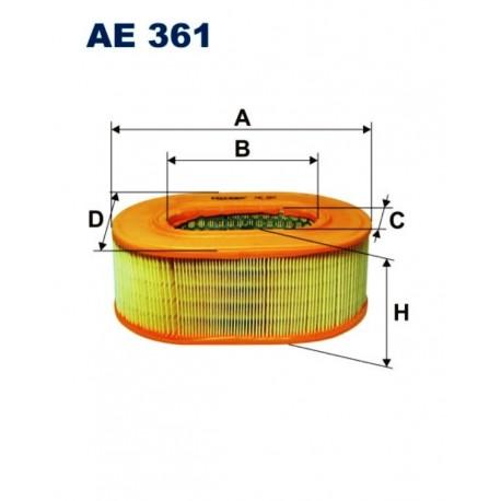 FILTR POWIETRZA FILTRON AE361