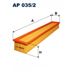 FILTR POWIETRZA FILTRON AP035/2