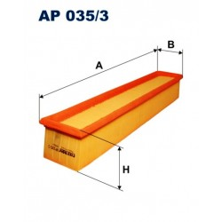 FILTR POWIETRZA FILTRON AP035/3