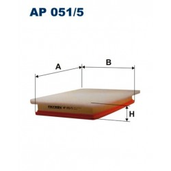 FILTR POWIETRZA FILTRON AP051/5