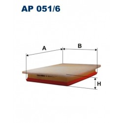 FILTR POWIETRZA FILTRON AP051/6