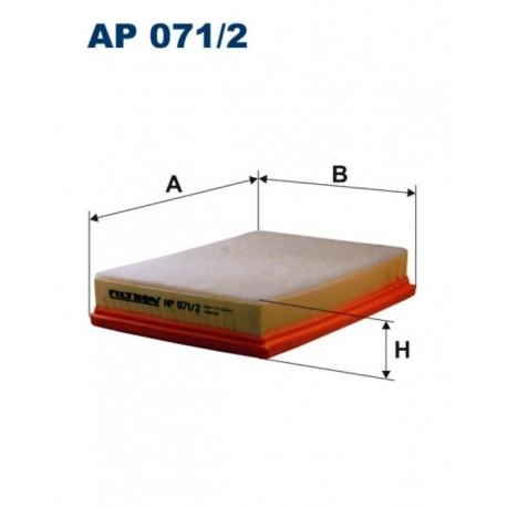 FILTR POWIETRZA FILTRON AP071/2