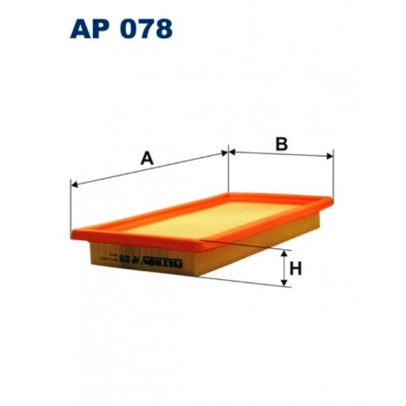 FILTR POWIETRZA FILTRON AP078