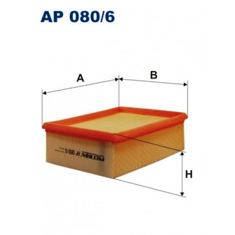 FILTR POWIETRZA FILTRON AP080/6