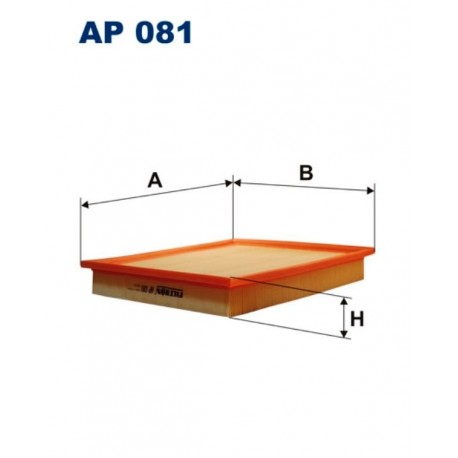 FILTR POWIETRZA FILTRON AP081