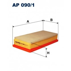 FILTR POWIETRZA FILTRON AP090/1