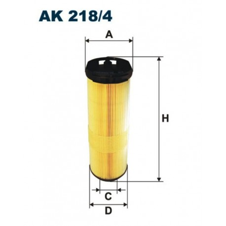 FILTR POWIETRZA FILTRON AK218/4