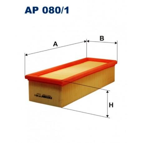 FILTR POWIETRZA FILTRON AP080/1