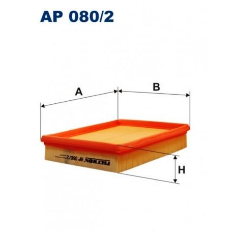 FILTR POWIETRZA FILTRON AP080/2