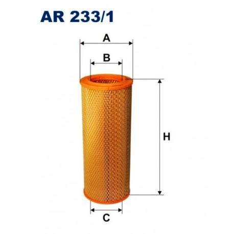 FILTR POWIETRZA FILTRON AR233/1