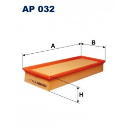 FILTR POWIETRZA FILTRON AP032