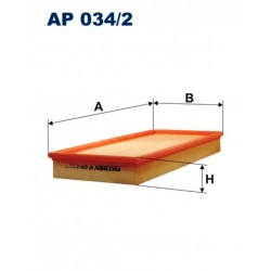 FILTR POWIETRZA FILTRON AP034/2