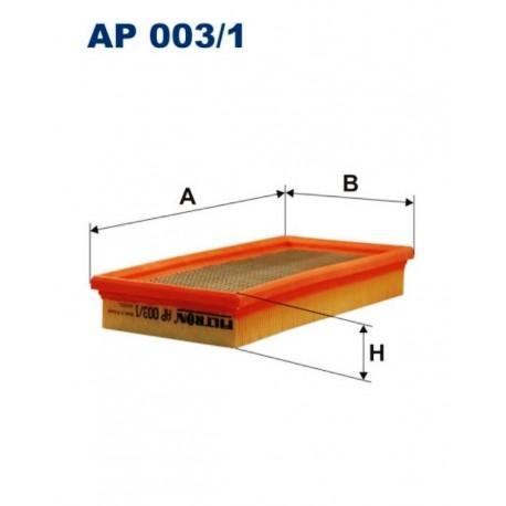 FILTR POWIETRZA FILTRON AP003/1