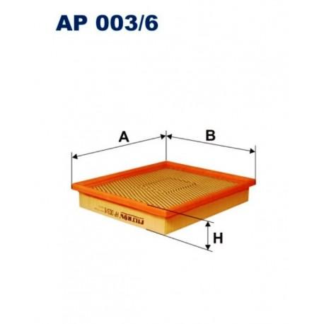 FILTR POWIETRZA FILTRON AP003/6
