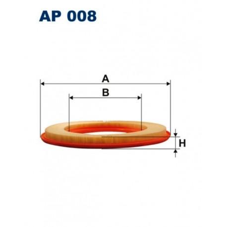 FILTR POWIETRZA FILTRON AP008