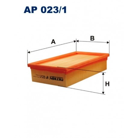 FILTR POWIETRZA FILTRON AP023/1