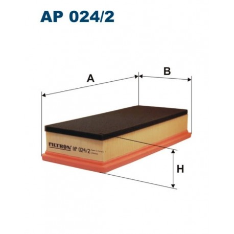FILTR POWIETRZA FILTRON AP024/2
