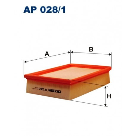 FILTR POWIETRZA FILTRON AP028/1