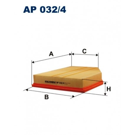 FILTR POWIETRZA FILTRON AP032/4
