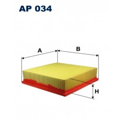FILTR POWIETRZA FILTRON AP034