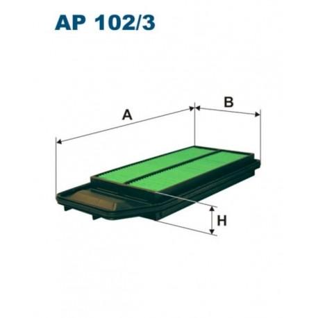 FILTR POWIETRZA FILTRON AP102/3