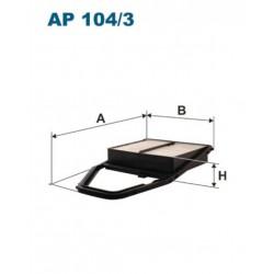 FILTR POWIETRZA FILTRON AP104/3