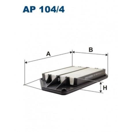 FILTR POWIETRZA FILTRON AP104/4