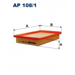 FILTR POWIETRZA FILTRON AP108/1