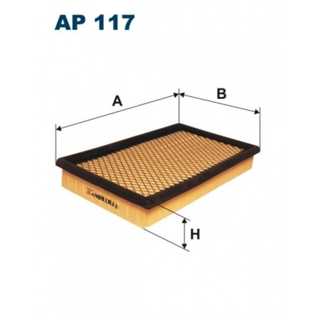 FILTR POWIETRZA FILTRON AP117