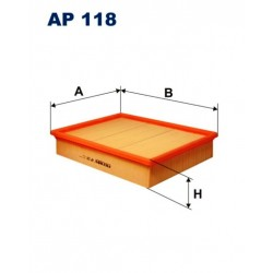 FILTR POWIETRZA FILTRON AP118