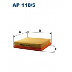 FILTR POWIETRZA FILTRON AP118/5