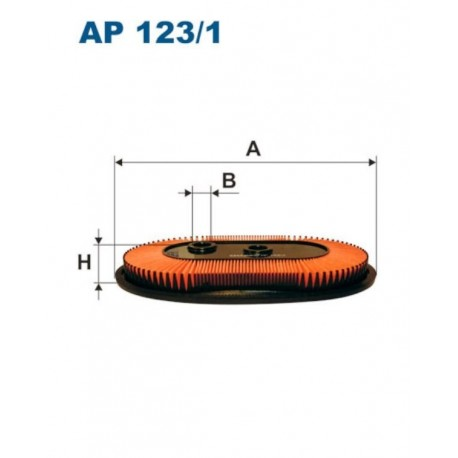 FILTR POWIETRZA FILTRON AP123/1