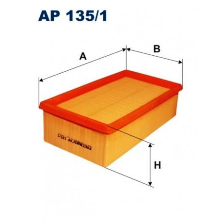 FILTR POWIETRZA FILTRON AP135/1