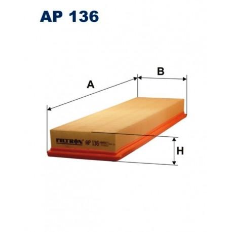 FILTR POWIETRZA FILTRON AP136