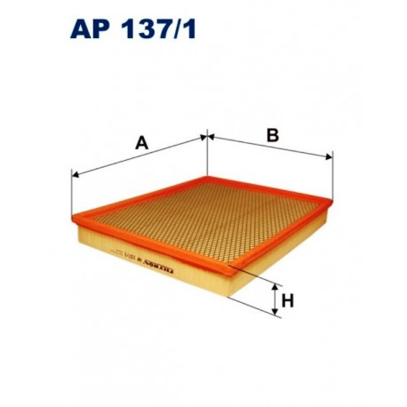 FILTR POWIETRZA FILTRON AP137/1