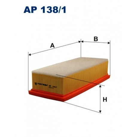 FILTR POWIETRZA FILTRON AP138/1