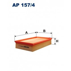 FILTR POWIETRZA FILTRON AP157/4