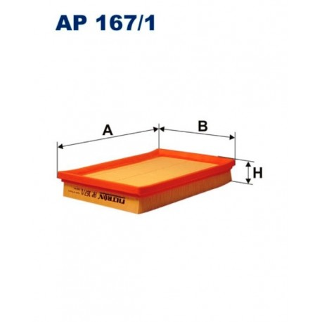 FILTR POWIETRZA FILTRON AP167/1