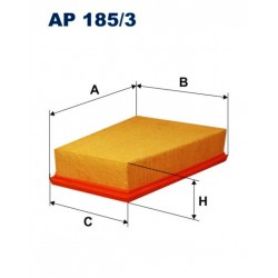 FILTR POWIETRZA FILTRON AP185/3