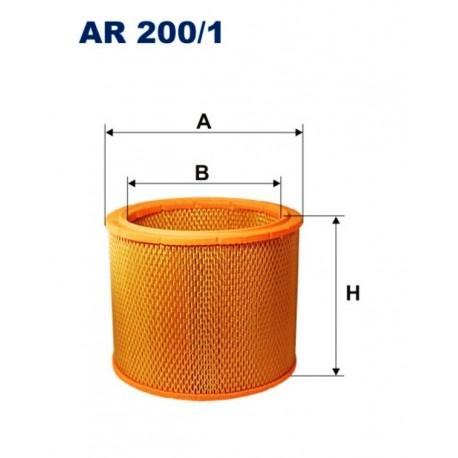 FILTR POWIETRZA FILTRON AR200/1