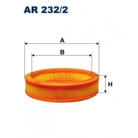 FILTR POWIETRZA FILTRON AR232/2