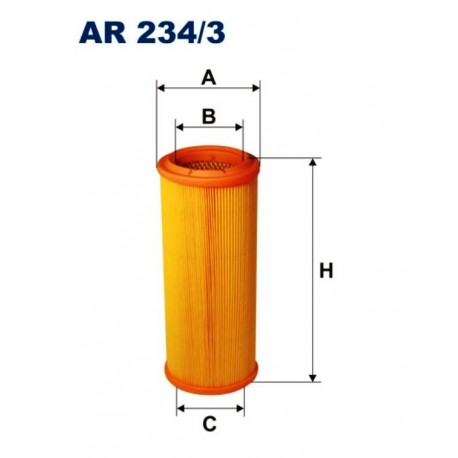 FILTR POWIETRZA FILTRON AR234/3