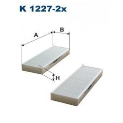 FILTR KABINY GC-7091-2 FILTRON KOD K1227-2X