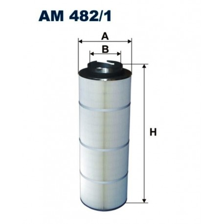 FILTR POWIETRZA FILTRON AM482/1